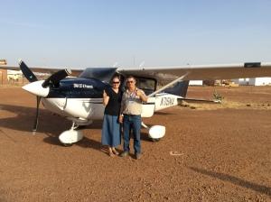 aim airplane niger