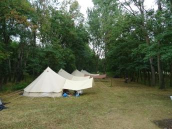 Romania tents