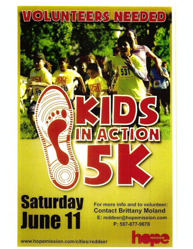 5 km Run Poster