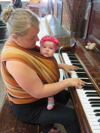 keys and baby Jeanne